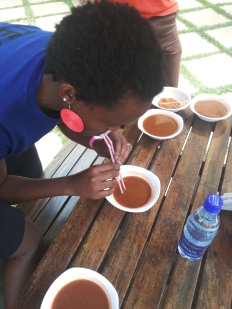 Team Bubble on that chilli soup competition