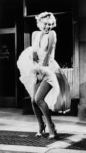 The famous Marilyn Monroe picture I am talking about